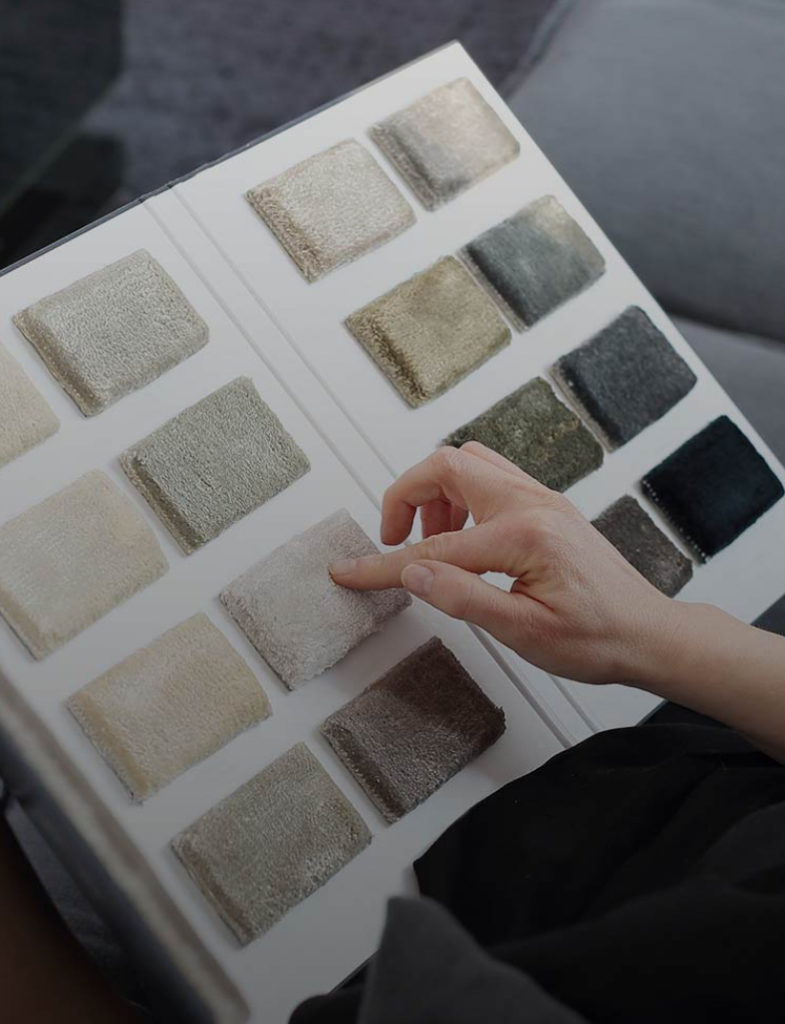 Materiali mobili e arredamento