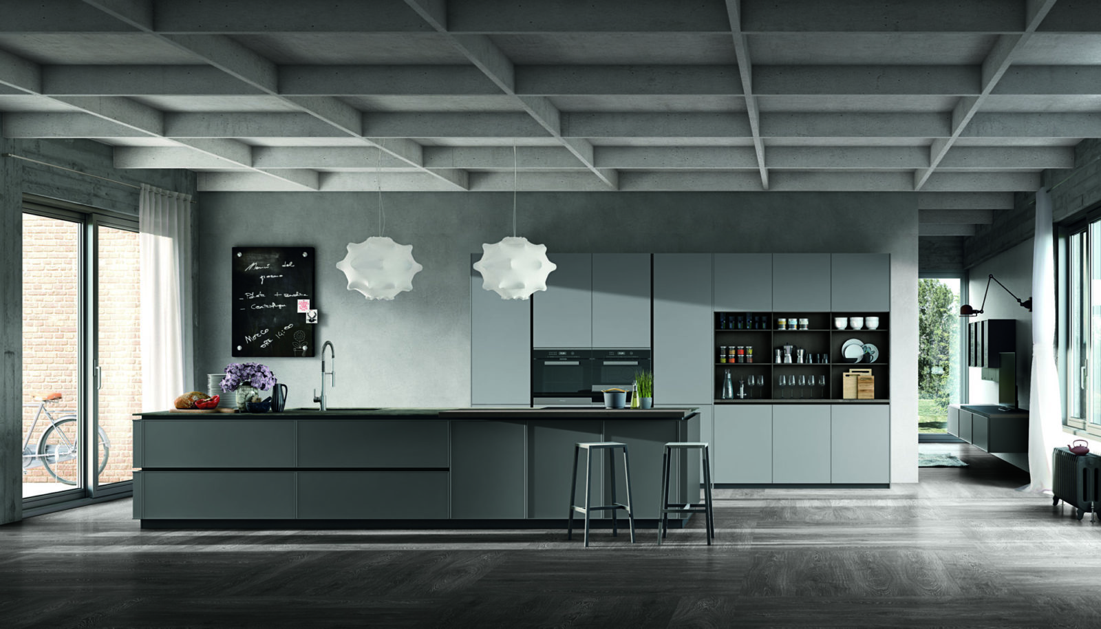 Stosa cucine moderne Color Trend