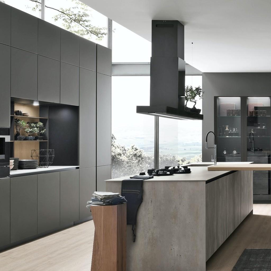 Puro Living Design A Milano Con Stosa Cucine